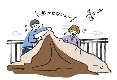 テントを次回快適に使うための鉄則は、しっかり乾燥&清掃を行うこと!干すスペースのことも考えて購入を