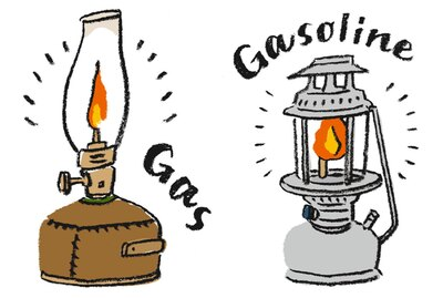 キャンプの象徴だからしっかり選びたい!ガス、ランタンでそれぞれ異なる4つの個性をチェック