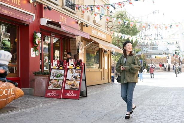 「パリの街を歩いているみたい!」と三ツ石さん