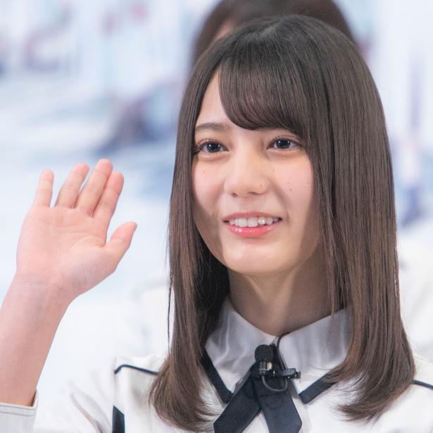 デビューシングル「キュン」でセンターを務める小坂菜緒