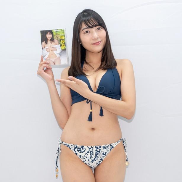 南沙羽1st DVD「夢を追いかけて」(竹書房)発売イベントより
