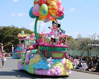 TDLで再演!ヘンテコ楽しいパレード「うさたま大脱走!」