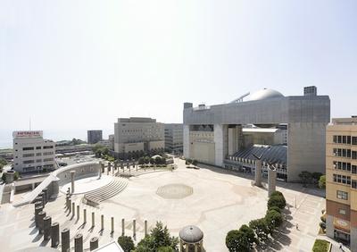 日立シビックセンター天球劇場の外観