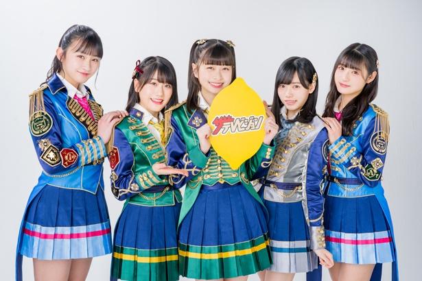 HKT48 12thシングル「意志」選抜メンバーの松岡はな、運上弘菜、小田彩加、松本日向、宮崎想乃にインタビュー