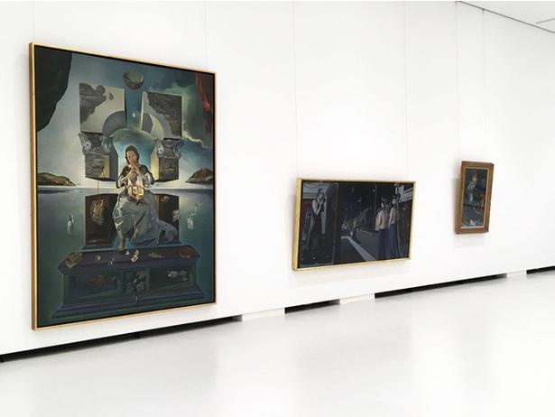 ダリの作品「ポルト・リガトの聖母」も展示 / 福岡市美術館