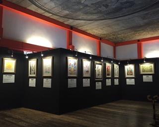 日本凱旋!滋賀県・三井寺で約50名の漫画家が描いた仏の絵を展示中