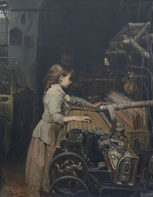 【写真を見る】絵画を中心に、彫刻・家具・宝飾品・図面など約150点の作品が並ぶ