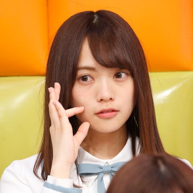 「全力!日向坂46バラエティー HINABINGO!」取材会より宮田愛萌(まなも)