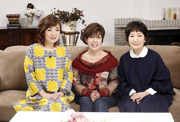 (左から)清水ミチコ、平野レミ、森山良子
