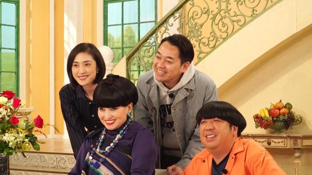 天海祐希が出演する「徹子の部屋」は4月10日(水)に放送