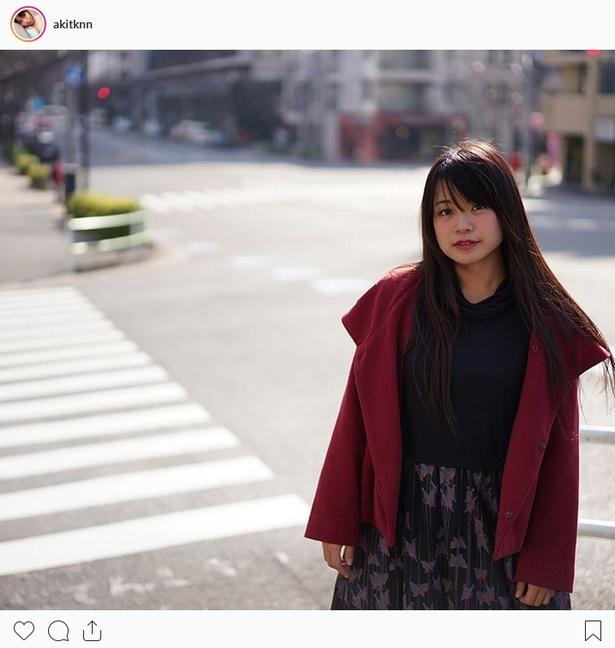 ※画像は藤原亜紀乃(akitknn)公式Instagramより