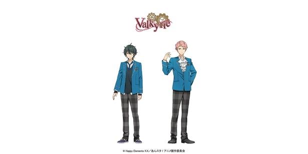 アニメ「あんさんぶるスターズ!」より、VAlkyrieのキャラクタービジュアル
