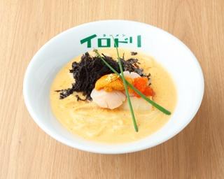 岐阜のラーメン界を牽引する名店「イロドリ」が濃厚なホタテとウニを使った極上白湯を考案!