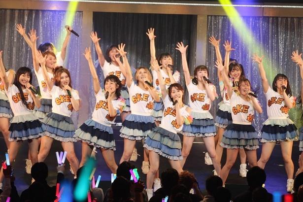 東京・江戸川区総合文化センター行われたSKE48の関東ツアー1日目の模様をリポート