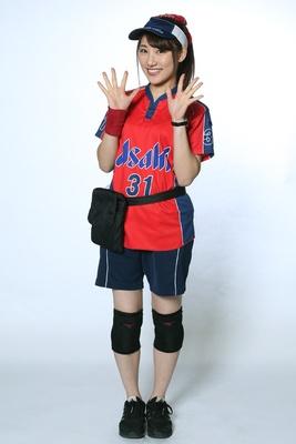 石橋茉奈 / 2年目 / みなさんと一緒にドームを盛り上げていきたいです!