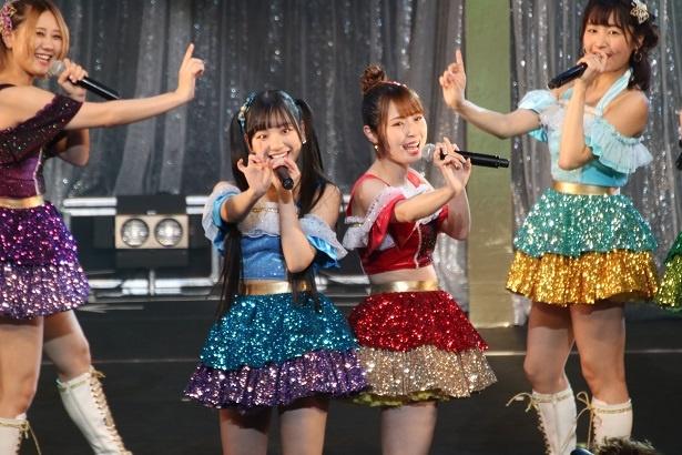「SKE48コンサート炎の関東ツアー2019」東京公演初日のフォトリポート(写真は「パレオはエメラルド」)
