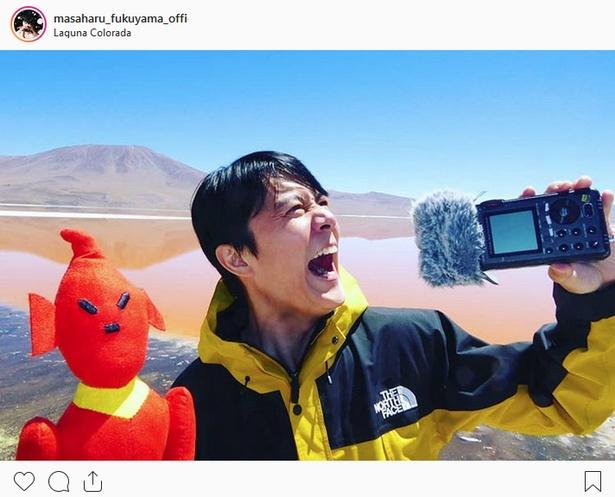 ※画像は福山雅治(masaharu_fukuyama_official)公式Instagramより