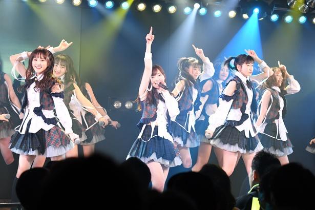 AKB48劇場でのHKT48「RESET」公演の様子(9)