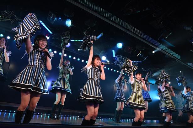 AKB48劇場でのHKT48「RESET」公演の様子(4)