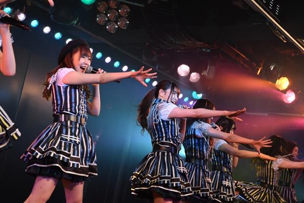 AKB48劇場でのHKT48「RESET」公演の様子(3)