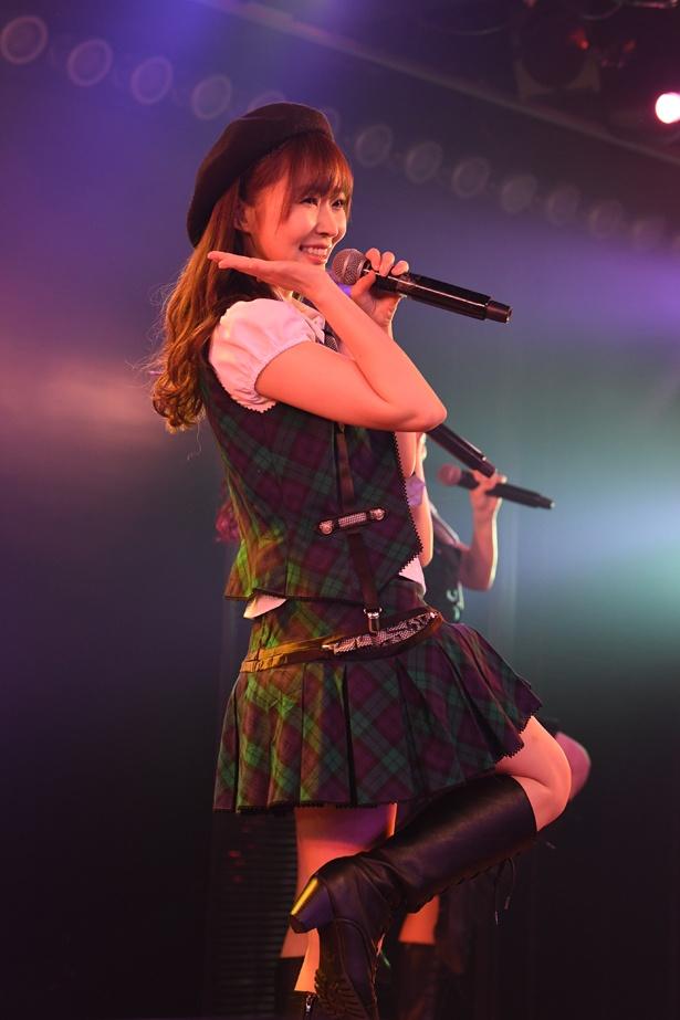 AKB48劇場でのHKT48「RESET」公演の様子(5)