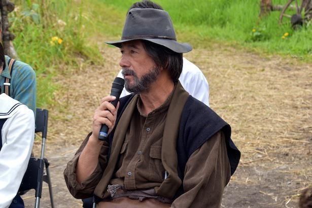 泰樹役の草刈正雄