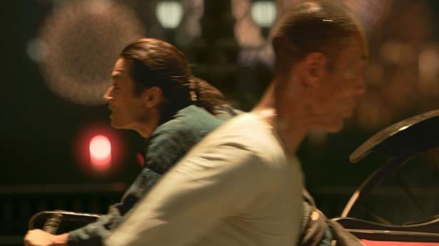 孝蔵と四三の感情が高ぶった瞬間、二人が交差するシーンが描かれた
