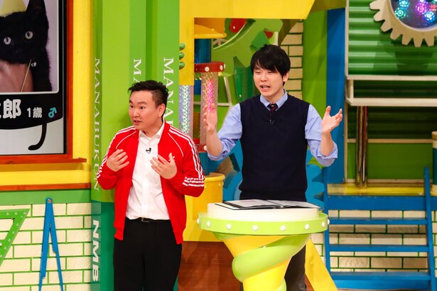 かまいたちの山内健司はNMB48メンバーたちの普段の活躍と、この番組でのギャップを感じるとか