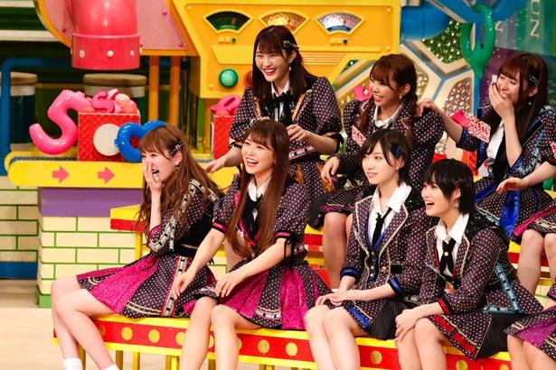 3組の芸人講師たちの熱い授業にNMB48メンバーも爆笑