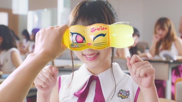 """与田祐希が""""変顔""""で「ニャン!」"""