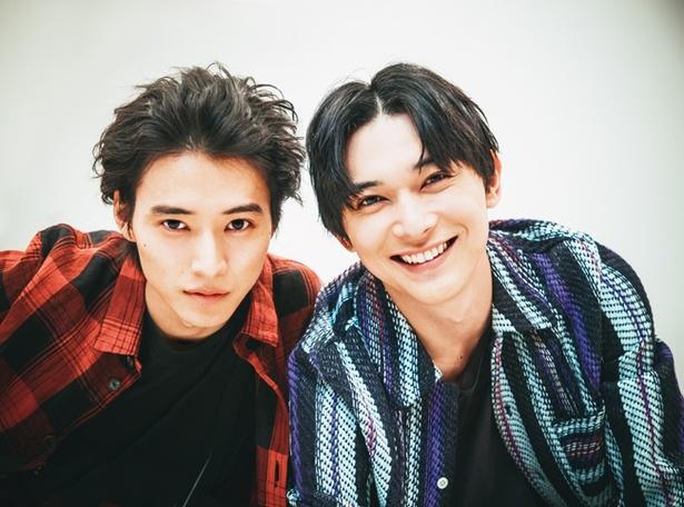 映画「キングダム」で共演した山﨑賢人と吉沢亮