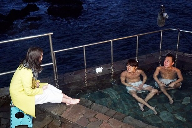 【写真を見る】このタイミングで…? 入浴中に福田典子アナから卒業発表が