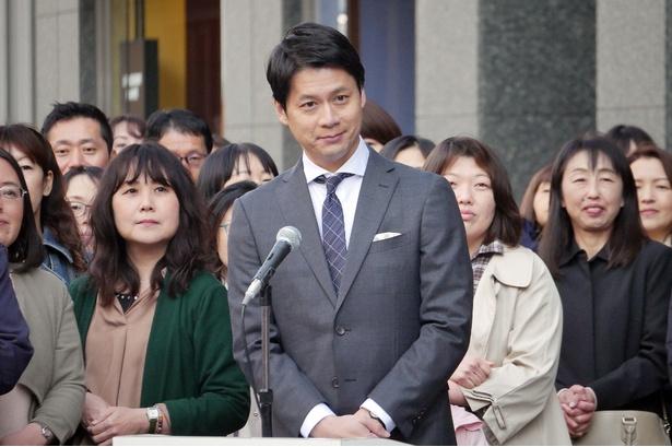 4月21日スタートのドラマ「集団左遷!!」にゲスト出演する石井亮次アナ