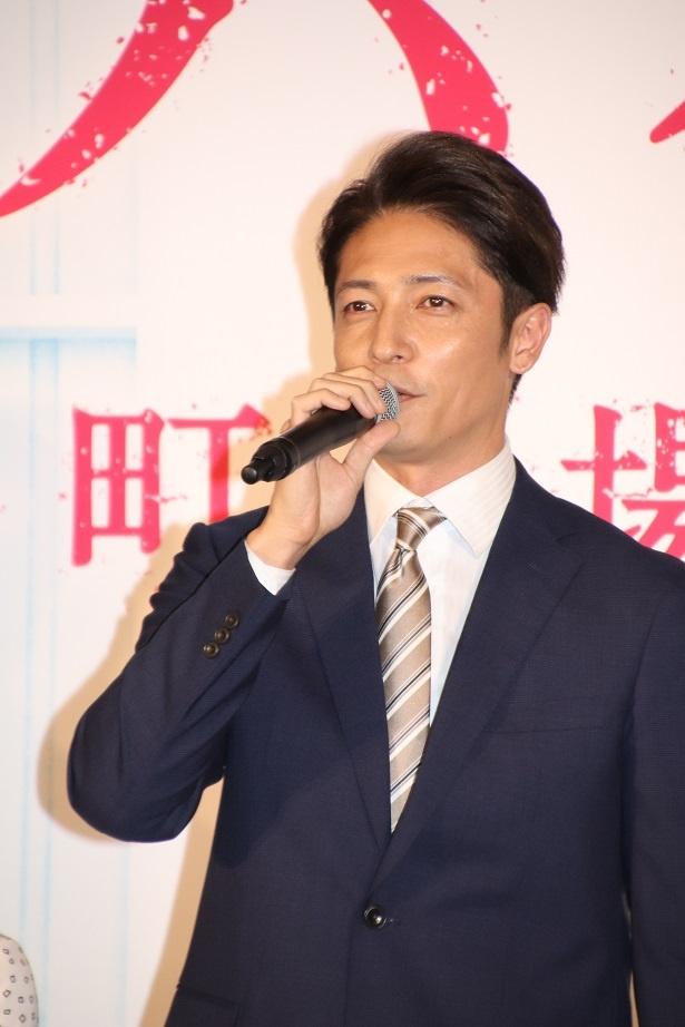 玉木宏が町工場の再生に奮闘する企業再生家を演じる
