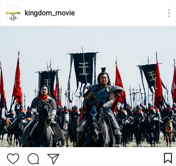 【写真を見る】総勢100頭の騎馬が参加した迫力の戦闘シーン