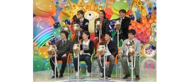 麒麟・川島明ら「競馬芸人」が、競馬の魅力や楽しさを熱く語る!