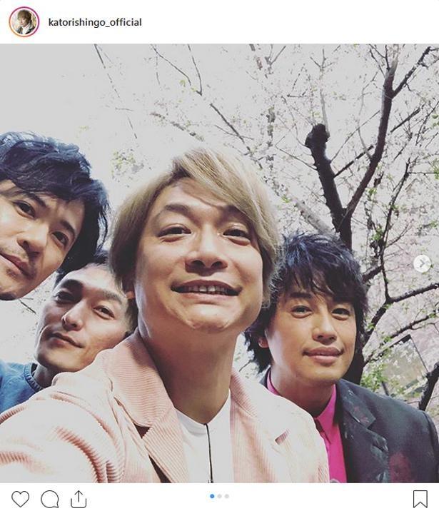 ※画像は香取慎吾(katorishingo_official)公式Instagramより