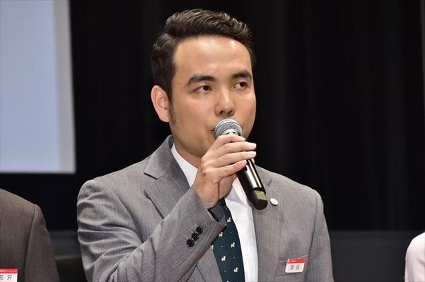 宮田学役の谷口翔太