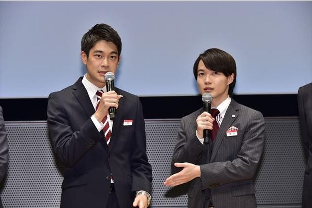 「神木さんと井之脇さんは、お付き合いの…期間はありますよね?」との質問に…