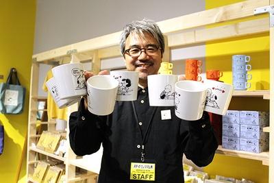グッズに関するお話を聞かせてくれた 開永一郎氏