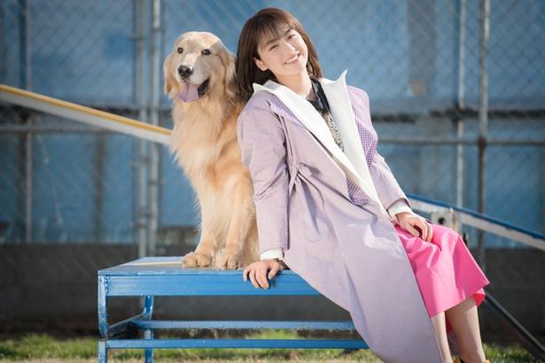 平祐奈がドッグシッター体験で犬と触れ合う