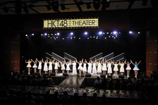 「RESET」公演ラストの様子(1)