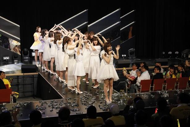 「RESET」公演ラストの様子(2)