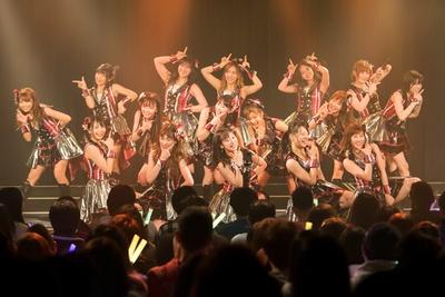 NMB48劇場で初日公演を行った川上チームN