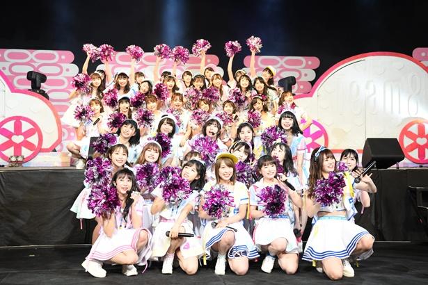 4月13日、14日にAKB48 チーム8が結成5周年記念コンサートを開催