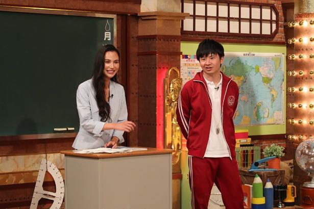 「しくじり先生」第三の先生として、水沢アリーが登壇
