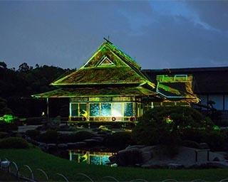 ひときわ華やぐ時季のライトアップ!岡山後楽園で「春の幻想庭園」開催