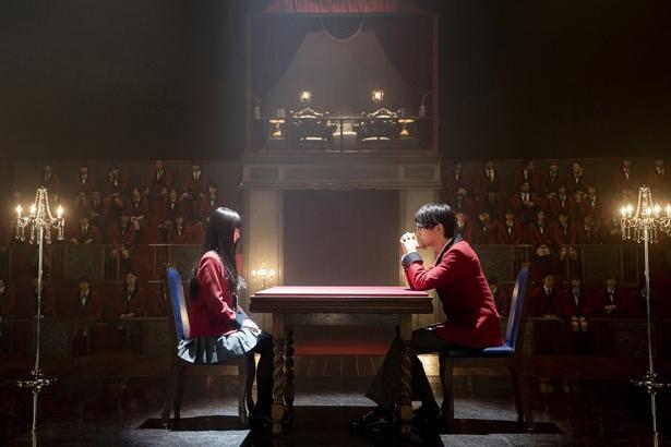 """夢子はユメミとのバトルを終えた直後、豆生田に対して""""公式戦""""の権利を行使"""