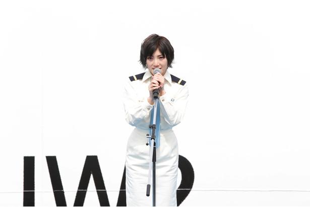 就役式で挨拶した岡田奈々は「STU48号の出航を迎え、本当の意味でのスタートラインに立ちます」と力強く語った