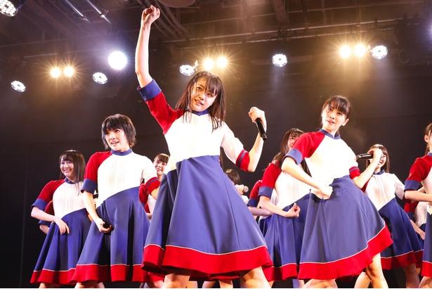 【写真を見る】初日公演はAKB48 Song、海Song、STU48 Songと3つのパートで行われた